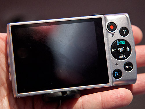 The PowerShot A2600 comes with a 3-inch LCD screen