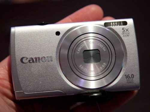The new 16-megapixel PowerShot A2600