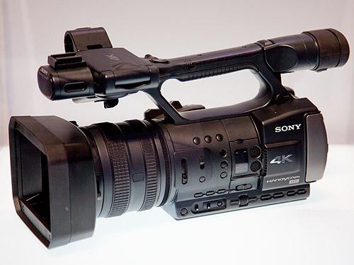 Sony's consumer 4K camcorder prototype.