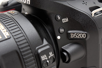 A useful Fn button sits next to the lens mount.