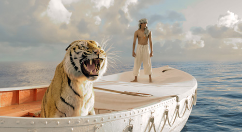 The Life of Pi tells the story of an Indian boy stranded in the middle of the Pacific Ocean on a lifeboat with a Bengal tiger