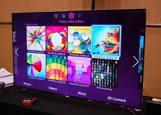tv 85 inch. with an extremely thin, almost non-existent border, the samsung un60f8000 led smart tv 85 inch