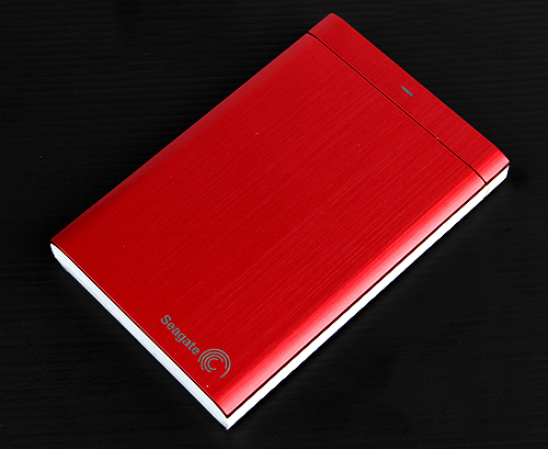The Seagate Backup Plus comes in a variety of colors, such as red.