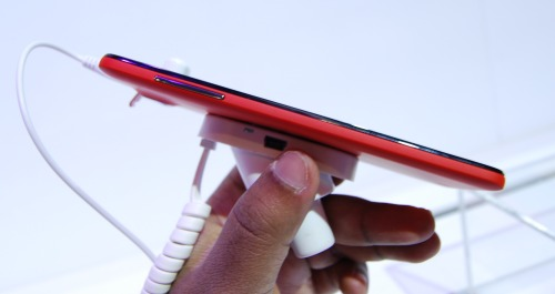 The world's thinnest smartphone at 6.45mm - the Alcatel One Touch Idol Ultra