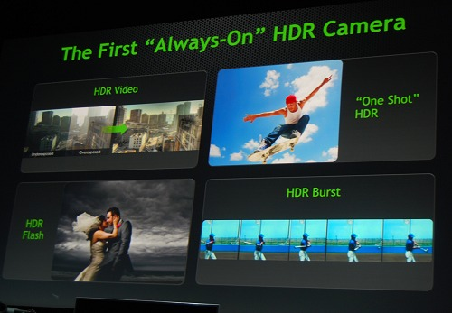 … the ability to have HDR enabled throughout anytime, all the time.