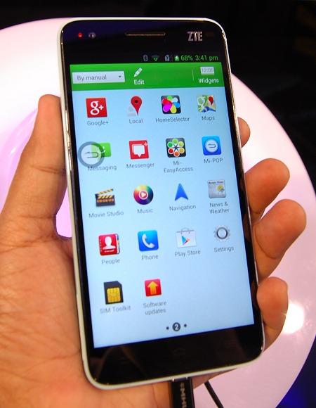 ZTE Grand S is the world's thinnest 5-inch FHD smartphone at the moment.