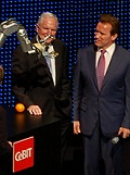 Governor Arnold Schwarzenegger in CeBIT 2009 Opening