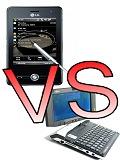 Smartphones Versus UMPCs: Mobility Meets Mobility