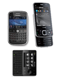 Blackberry Bold, Nokia N96 and HTC Touch Pro - A Mobile Trinity