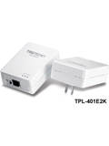 TRENDnet TPL-401E2K 500Mbps Powerline AV Adapter Kit