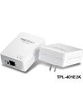 TRENDnet TPL-401E2K 500Mbps Powerline AV Adapter Kit
