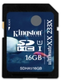Kingston SDHC UHS-I UltimateXX (16GB)