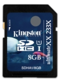 Kingston SDHC UHS-I UltimateXX (8GB)