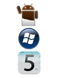 Android 4.0, iOS 5 and Windows Phone 7.5 in Comparison