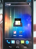 First Live Photo and Video of Samsung Nexus Prime with Ice Cream Sandwich Leaked