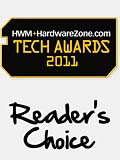 HWM+HardwareZone.com Tech Awards 2011 Reader's Choice Results
