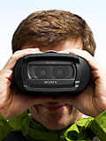 Hands-on: Sony DEV-5 Digital Recording Binoculars