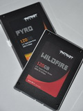 First Looks: Patriot Pyro and Wildfire 120GB SSDs – Blazing Speeds