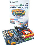 Gigabyte MA790GP-UD4H (AMD 790GX) - Ultra Durable 3 for DDR2