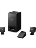 Sony SRS-GD50iP 2.1 PC Speaker System - Have Dock, Will Travel