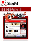 SingTel AMPed - True Unlimited Mobile Music Download