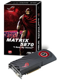 ASUS Matrix 5870 Platinum 2GB GDDR5