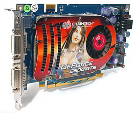 Chaintech GeForce 8600 GTS 256MB