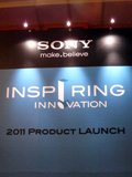 Sony's Latest Salvo - Inspiring Innovation