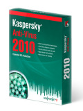 Kaspersky Anti-Virus 2010 (1 User)