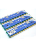 Kingston HyperX DDR3 1600MHz Triple-Channel Low Latency XMP Ready Memory Kit (3GB)