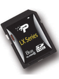 Patriot LX Class 10 SDHC Memory Card  PSF16GSDHC10 (16GB)