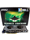 MSI N260GTX Lightning Black Edition