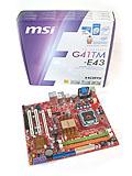 MSI G41TM-E43