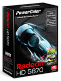 PowerColor PCS+ HD 5870 1GB GDDR5