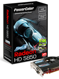 PowerColor PCS+ HD 5850 1GB DDR5