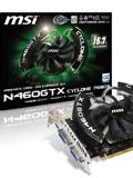 MSI N460GTX Cyclone 768D5/OC