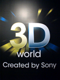 Entering Sony's 3D World