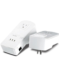 TRENDnet 200Mbps Powerline AV Adapter Kit with Bonus Outlet