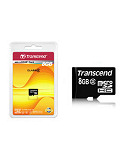Transcend Class 2 microSDHC with SD Adapter (8GB)