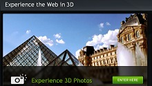 NVIDIA 3D Vision Live - World's First 3D Streaming Web Channel